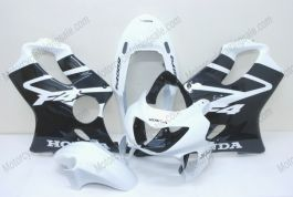 F4 1999-2000 Injection ABS Fairing For Honda CBR600 - Others - Black/White