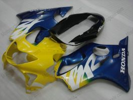 F4 1999-2000 Injection ABS Fairing For Honda CBR600 - Others - Yellow/Blue
