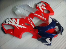 F4 1999-2000 Injection ABS Fairing For Honda CBR600 - Others - Red/Blue