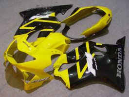F4 1999-2000 Injection ABS Fairing For Honda CBR600 - Others - Yellow/Black