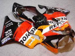 F4 1999-2000 Injection ABS Fairing For Honda CBR600 - Repsol - Orange/Black/Red