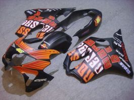 F4 1999-2000 Injection ABS Fairing For Honda CBR600 - Repsol - Orange/Black