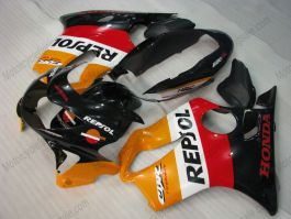 F4 1999-2000 Injection ABS Fairing For Honda CBR600 - Repsol - Yellow/Black/Red