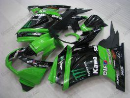 NINJA EX250 2007-2009 Injection ABS Fairing For Kawasaki - Monster - Green/Black