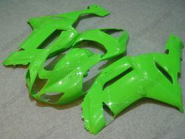 NINJA ZX6R 2007-2008 Injection ABS Fairing For Kawasaki - Factory Style - All Green