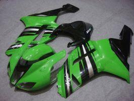 NINJA ZX6R 2007-2008 Injection ABS Fairing For Kawasaki - Others - Green/Black