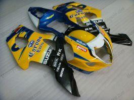 GSX-R 1000 2003-2004 K3 Injection ABS Fairing For Suzuki - Corona - Yellow/Black/Blue