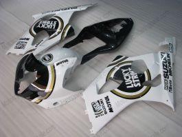GSX-R 1000 2003-2004 K3 Injection ABS Fairing For Suzuki - Lucky Strike - White/Black