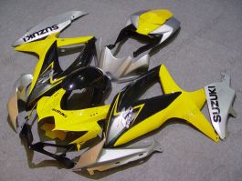 GSX-R 600/750 2008-2010 K8 Injection ABS Fairing For Suzuki - Others - Yellow/Black/Silver