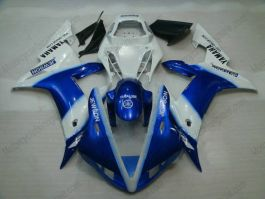 YZF-R1 2002-2003 Injection ABS Fairing For Yamaha - Jewson - Blue/White