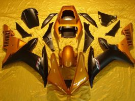 YZF-R1 2002-2003 Injection ABS Fairing For Yamaha - Others - Black/Gold